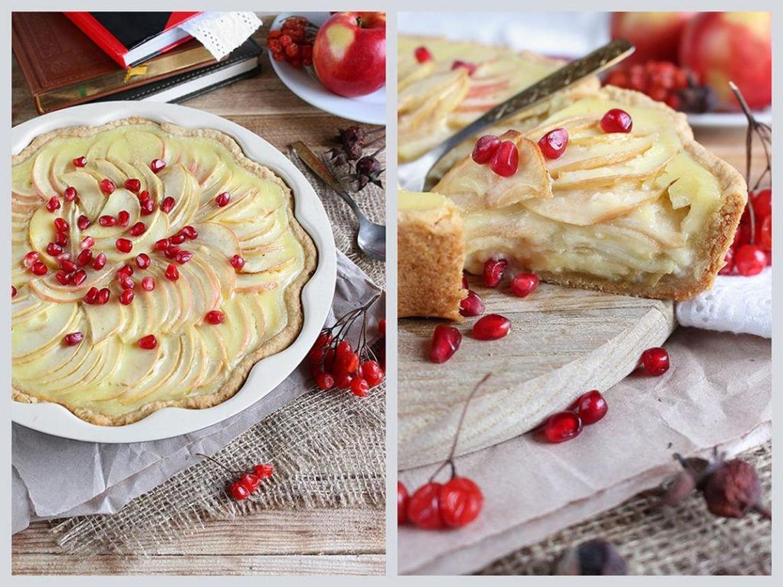 Пирог с яблоками: рецепт Цветаевой