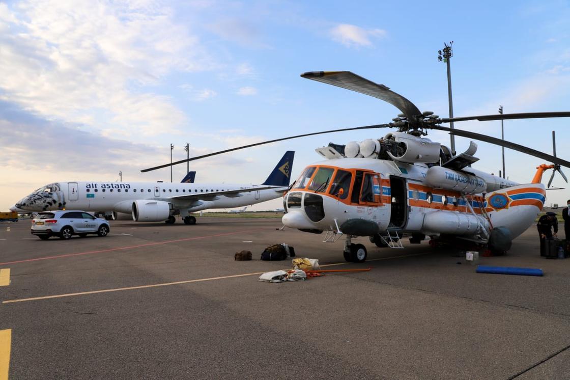 Казахстанские вертолеты
