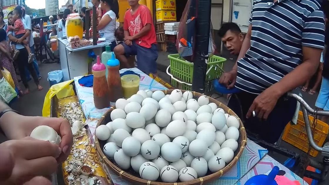 Продажа балюта на улице