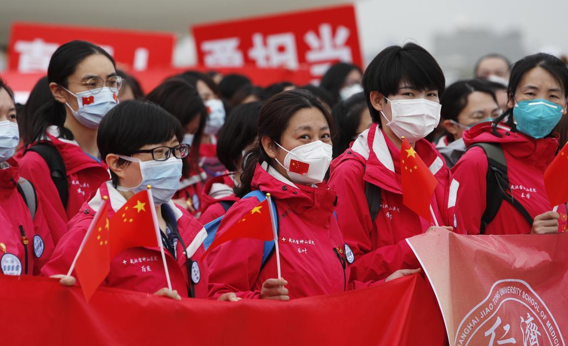 Впервые с января в Китае нет жертв коронавируса за последние сутки