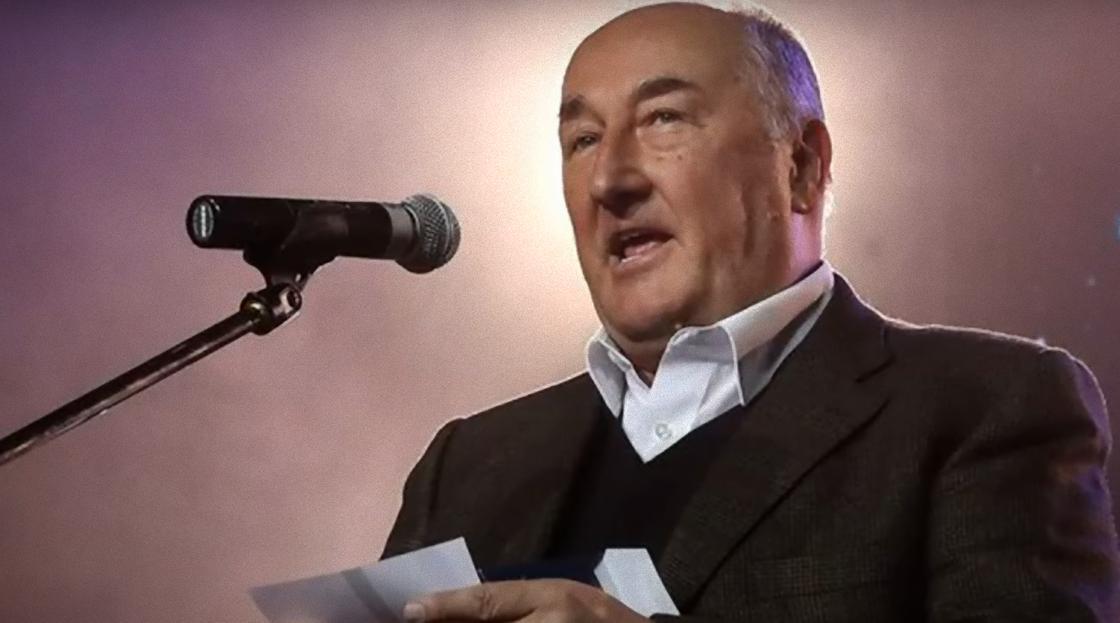Борис Клюев на сцене