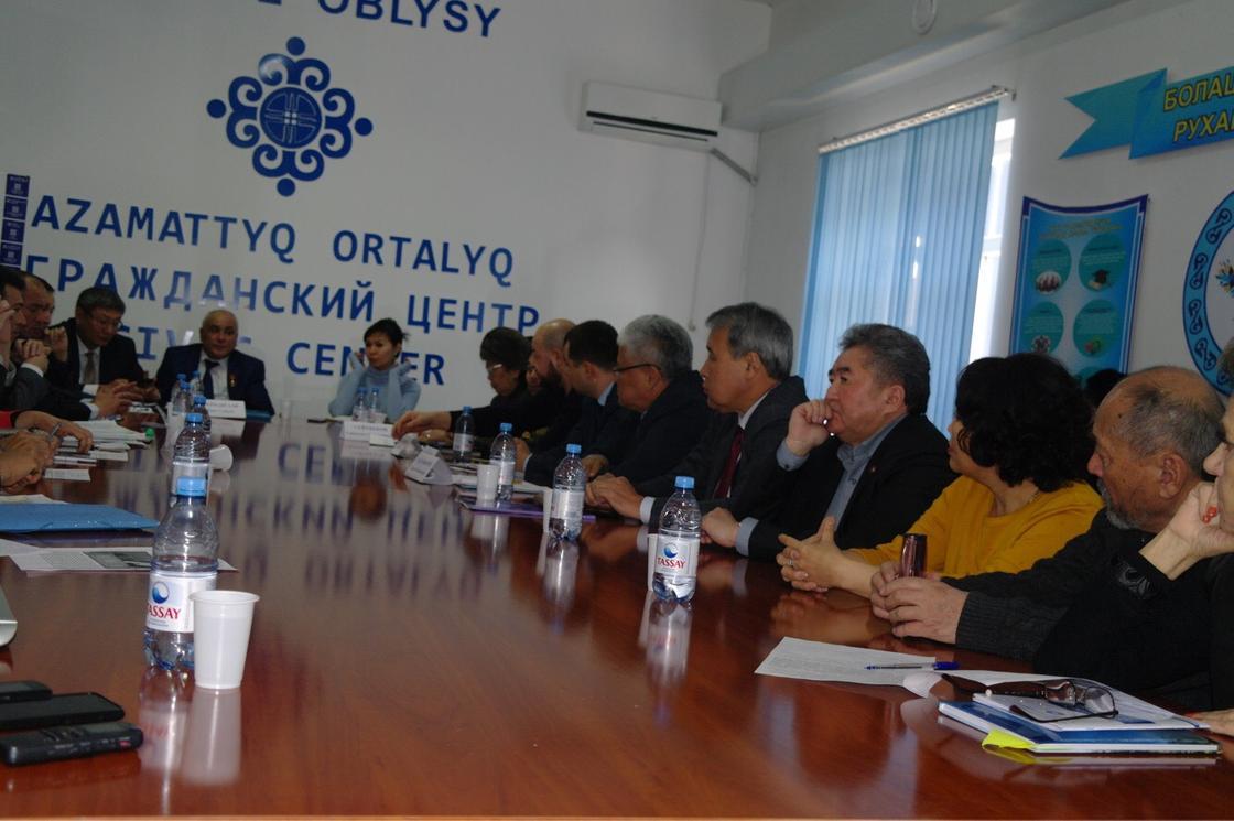 В Таразе обсудили статью президента «Семь граней великой степи»
