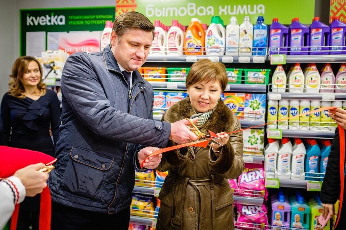 Белорусский магазин «Kvetka» в формате ультра-компакт открывается в Алматы