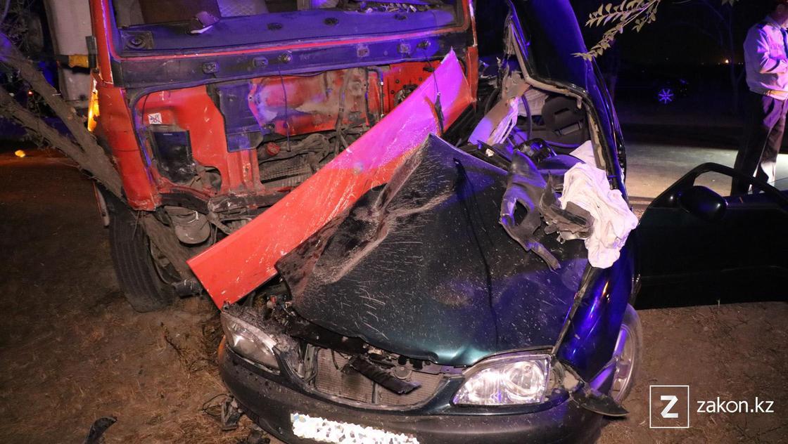 Поврежденные машины в Алматы