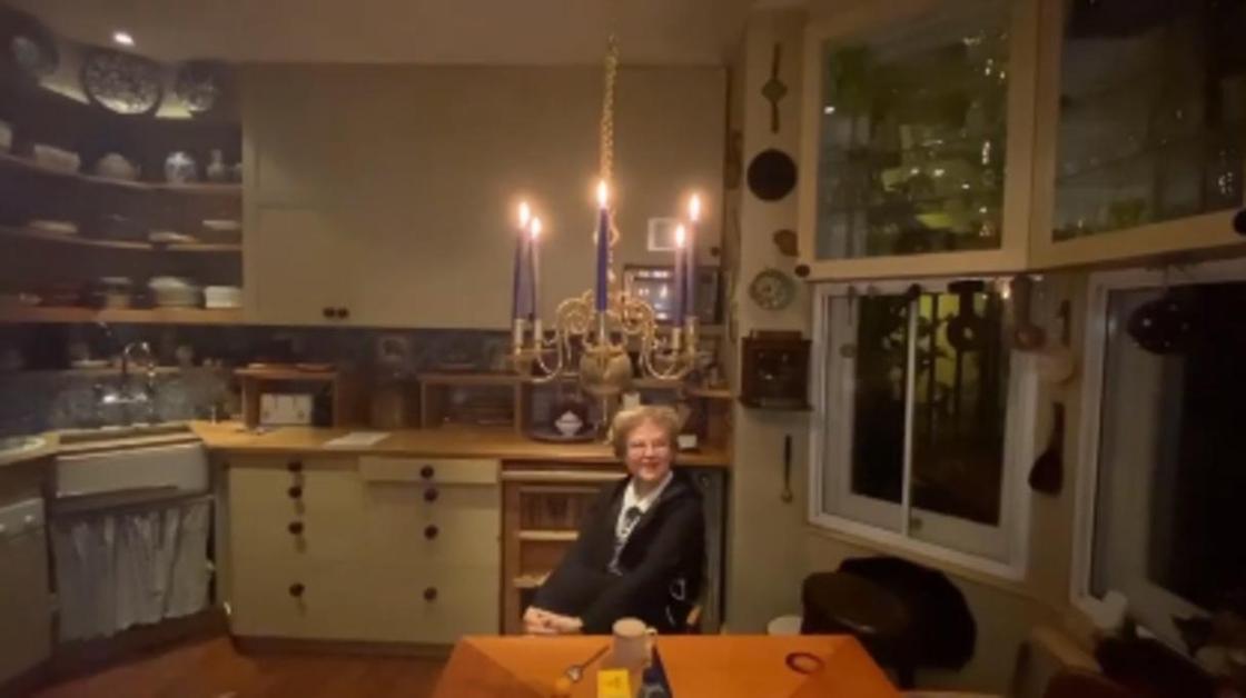 Малышева показала квартиру в Лондоне (видео)
