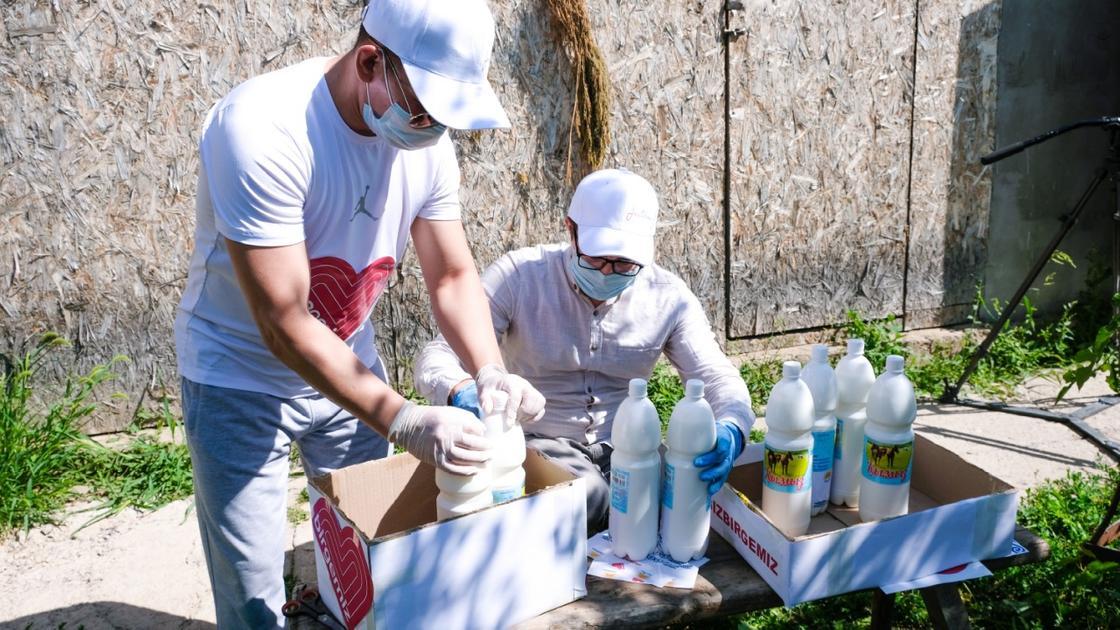 Врачам инфекционных стационаров привозят кумыс в ЗКО