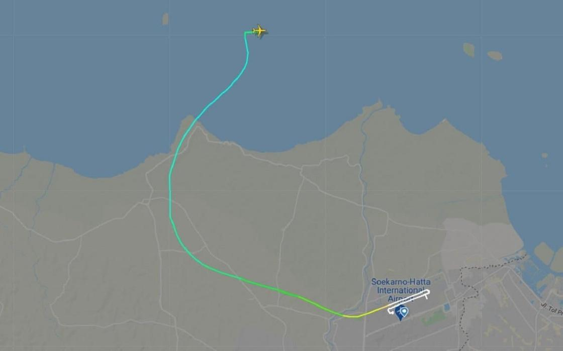 Самолет пропал с радаров