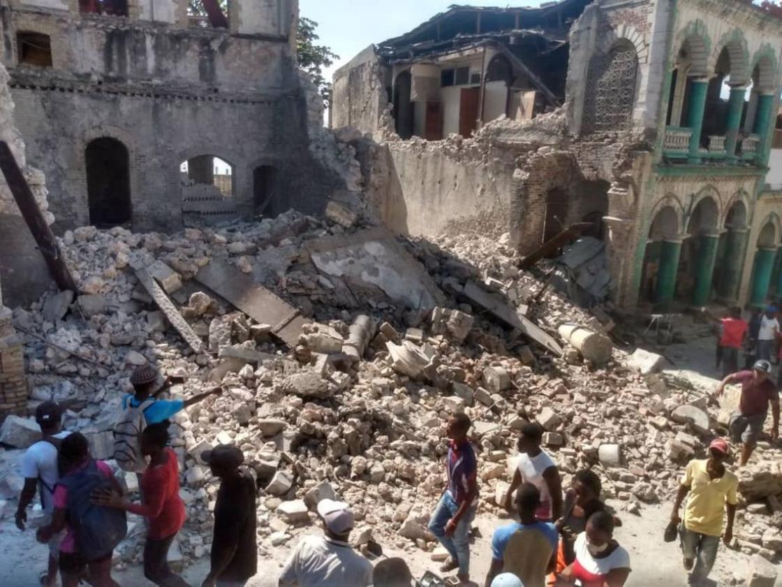 Землетрясение прогремело в районе Гаити