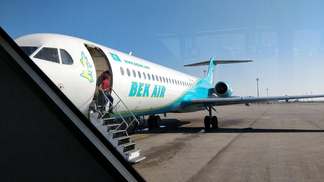 Авиакомпания Bek Air опубликовала заявление после крушения самолета