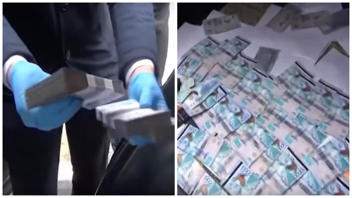 Кадрлар: Сыбайлас жемқорлыққа қарсы қызмет видеосынан