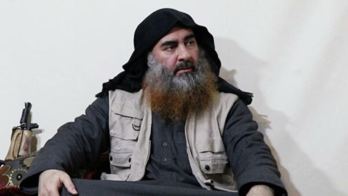 Абу Бакр аль-Багдади. Фото: Militant video