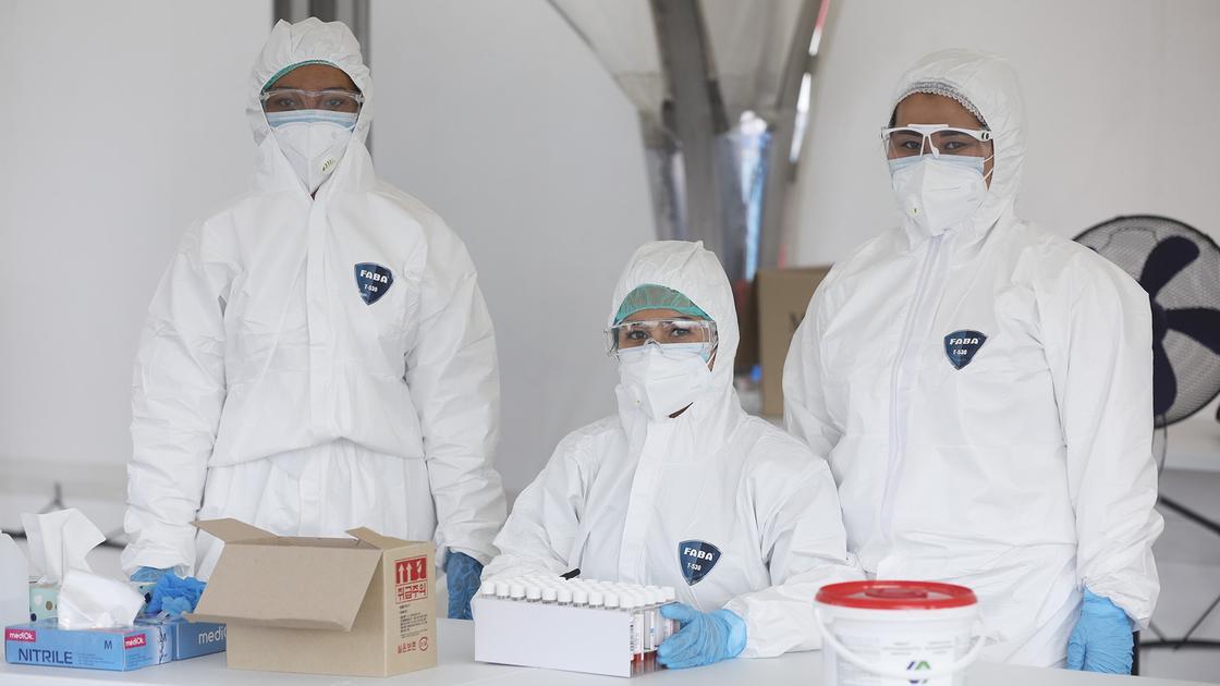 Количество сдающих ПЦР-тест на коронавирус уменьшилось в Алматы