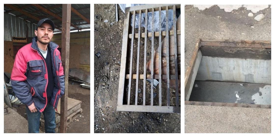 Вора канализационных люков поймали в Алматы (фото)