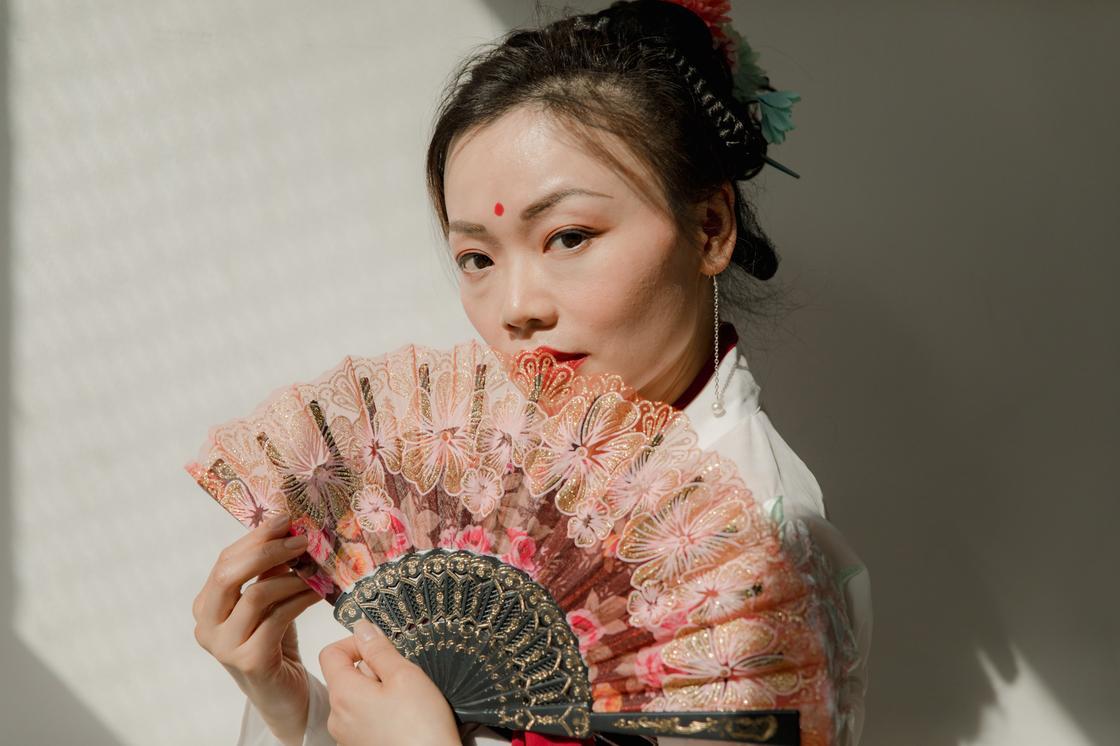 Корейская девушка