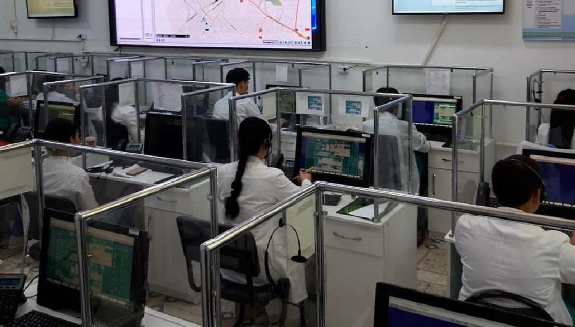 Количество вызовов скорой помощи уменьшилось в Туркестанской области