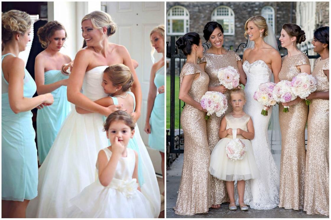ФОТОРЕП дети vs свадьбы