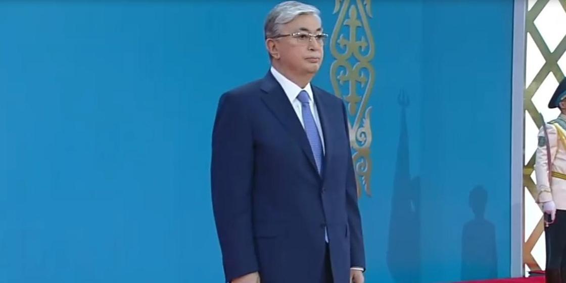 Появилось видео речи Касым-Жомарта Токаева на инаугурации президента