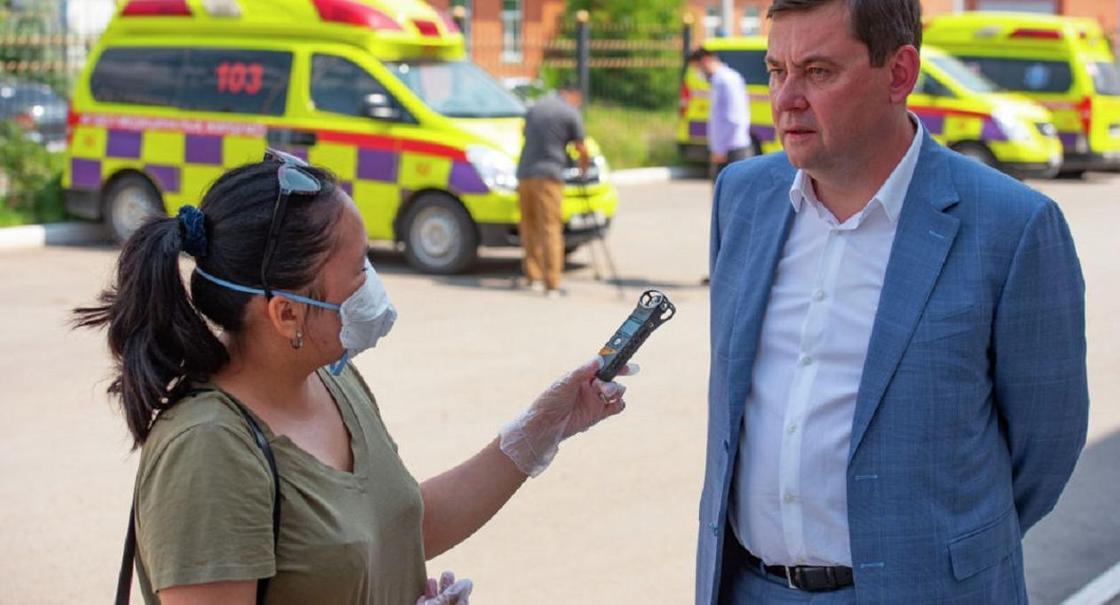 Замглавы Минздрава России высказался о мерах по борьбе с КВИ в Казахстане