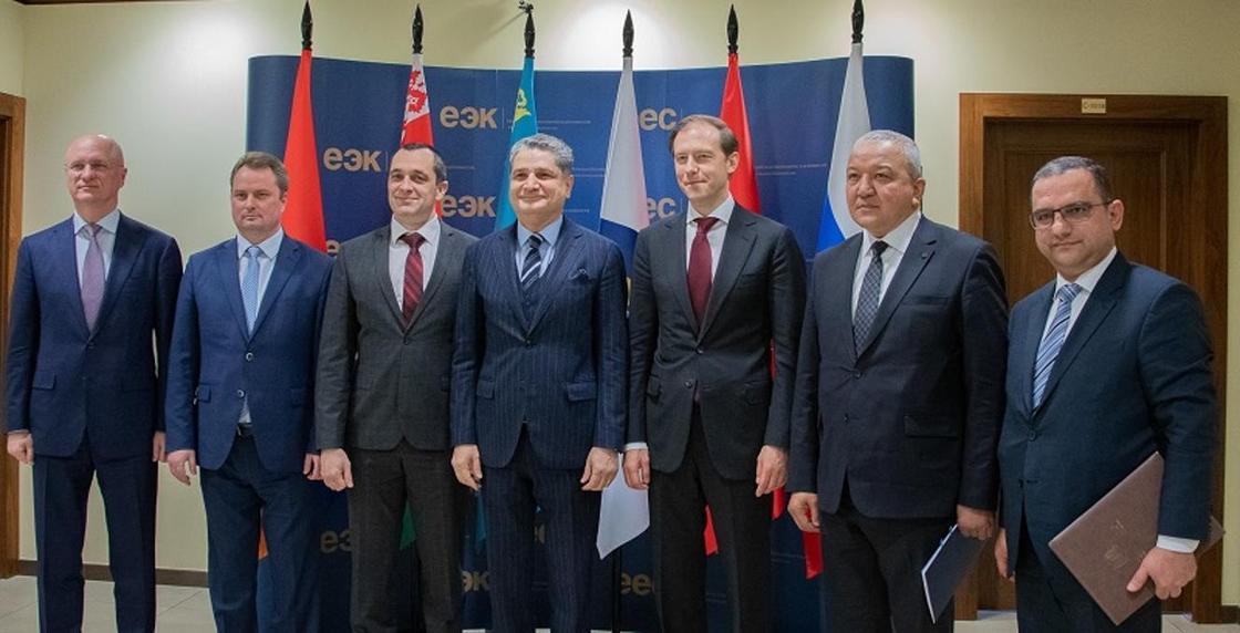 Состоялась встреча министров промышленности стран ЕАЭС