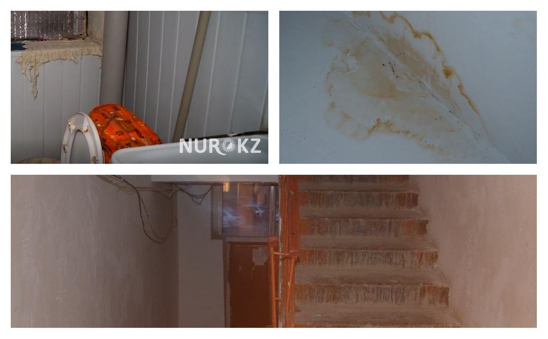 Түркістанда ауыз суды әжетханадан тасып ішіп отырған тұрғындар мұңын шақты (фото)