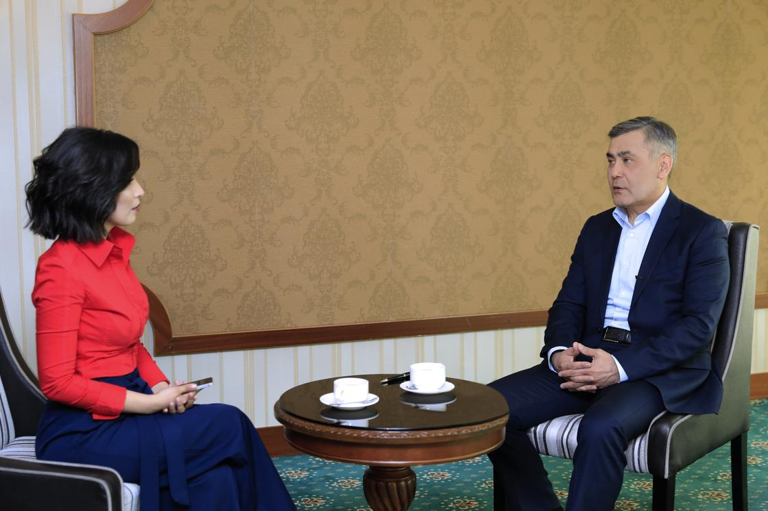 Министр обороны дал эксклюзивное интервью NUR.KZ