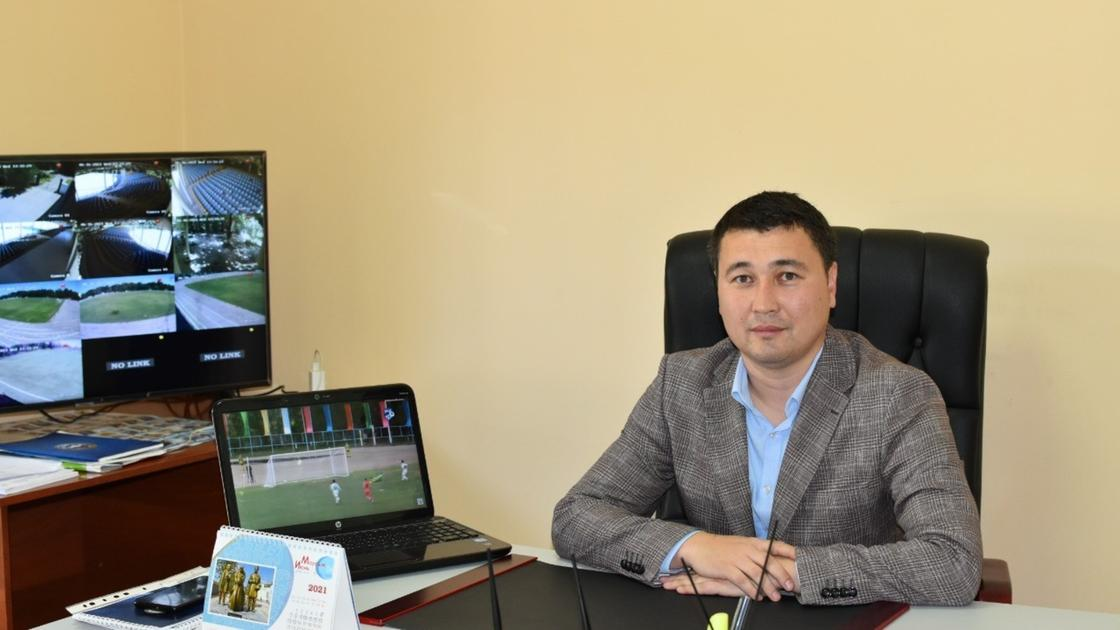 директор футбольного клуба «Мактаарал» Меиржан Есенгараев