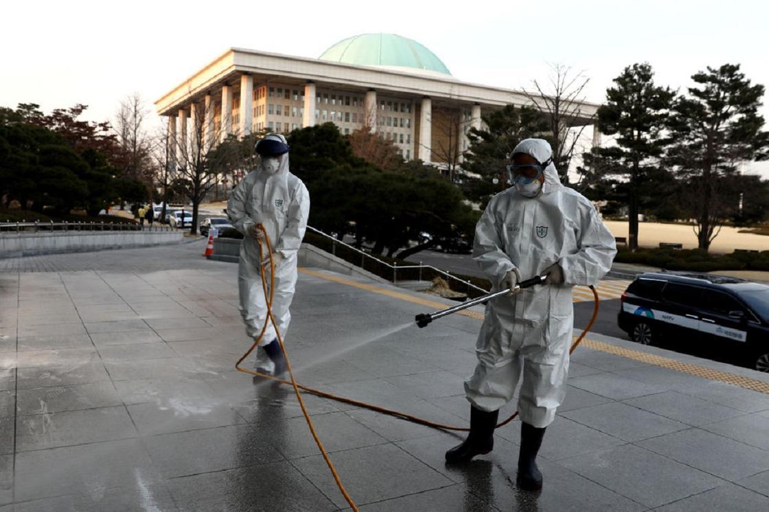 В Южной Корее число зараженных коронавирусом достигло 1146 человек