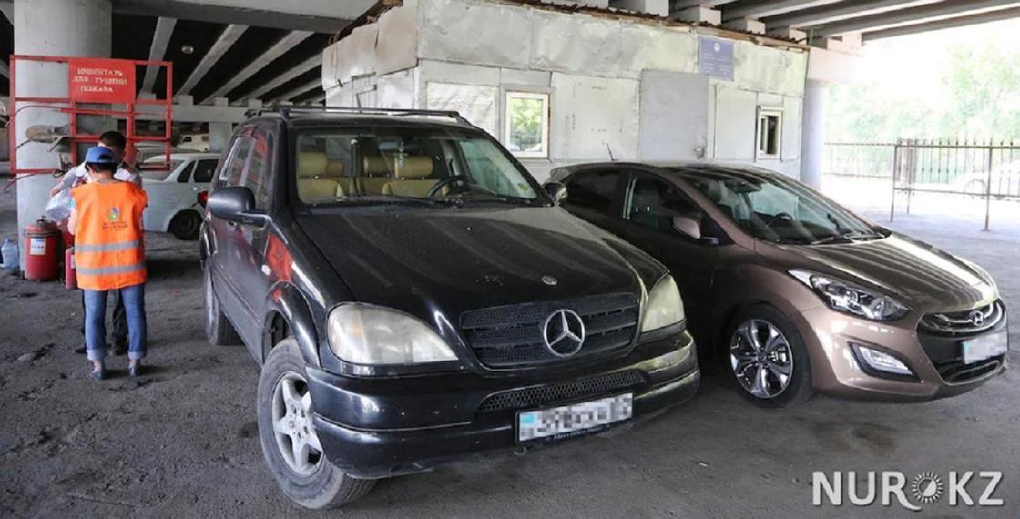 16 автомобилей отобрали у должников по алиментам в Алматы