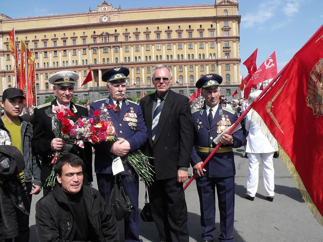 Парад ко Дню Победы, ветераны