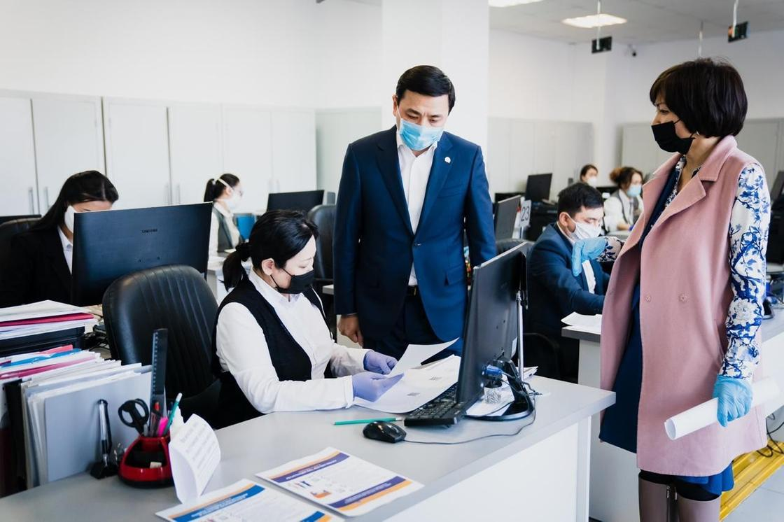 Аким столицы Алтай Кульгинов обратился с призывом к работодателям