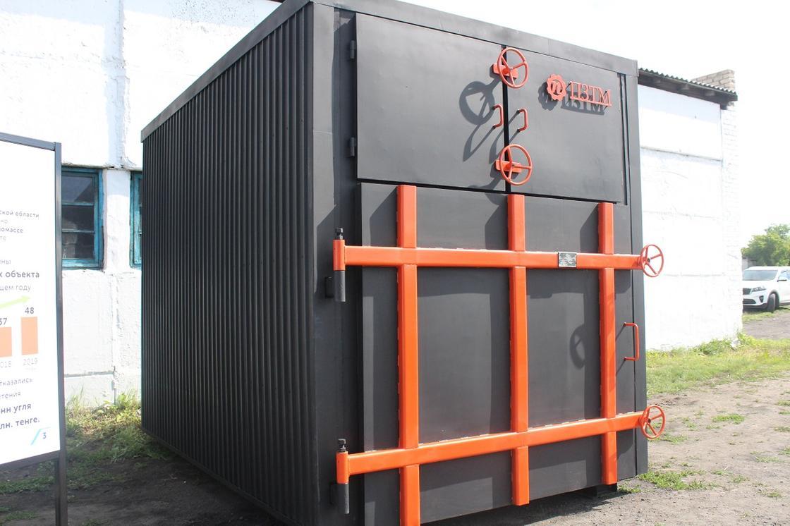 В СКО проводится работа по установке котлов, работающих на биомассе