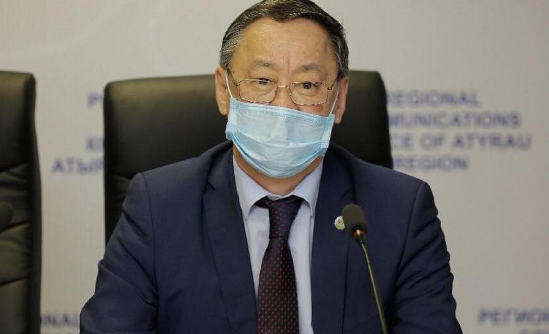 Атырау облысының бұрынғы бас санитар дәрігері коронавирус жұқтырды
