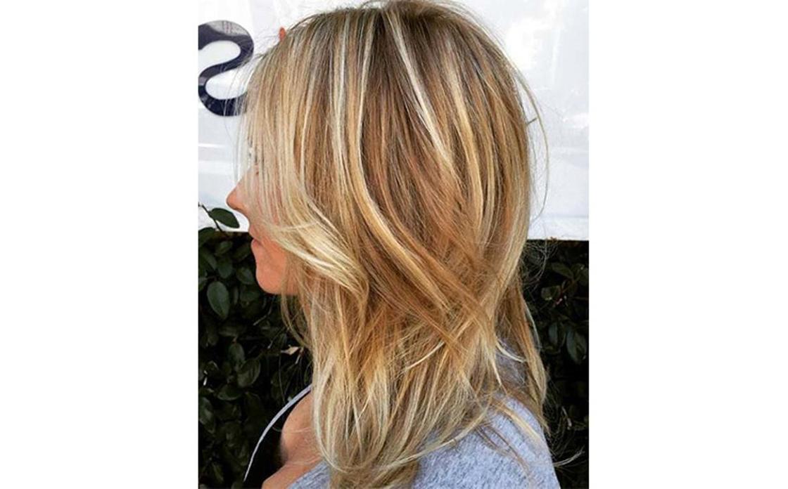 Балаяж на русые волосы: идеи и техника окрашивания, фото