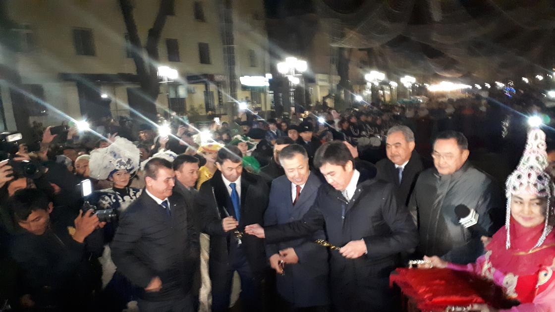 Новый Арбат открыли в Шымкенте (фото)