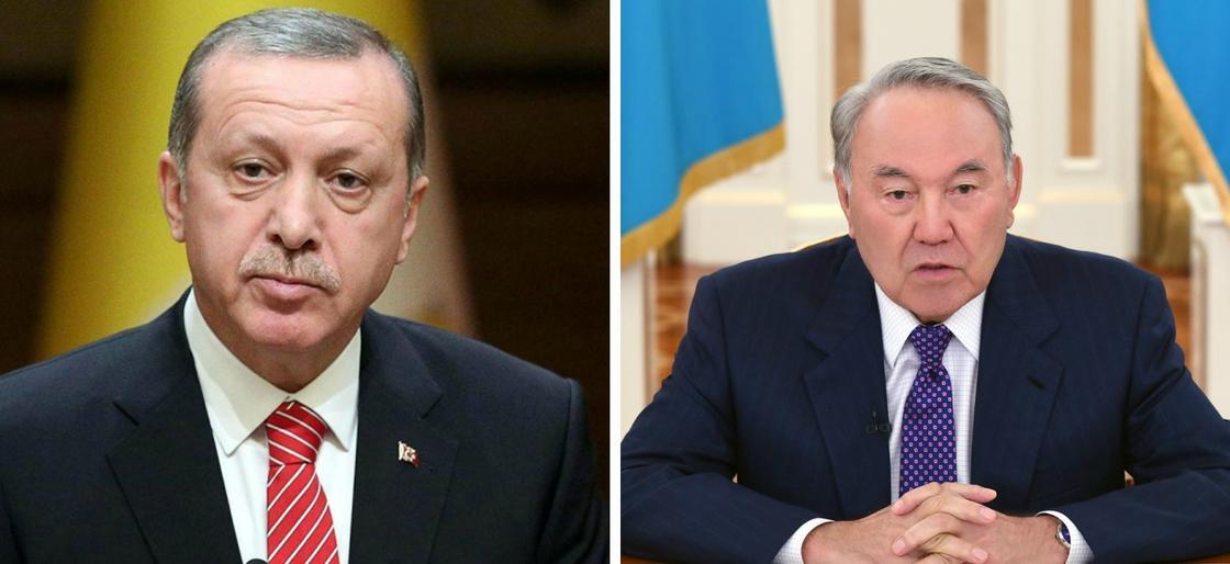Назарбаев пен Ердоған. Фото:discred.ru, Ақорда