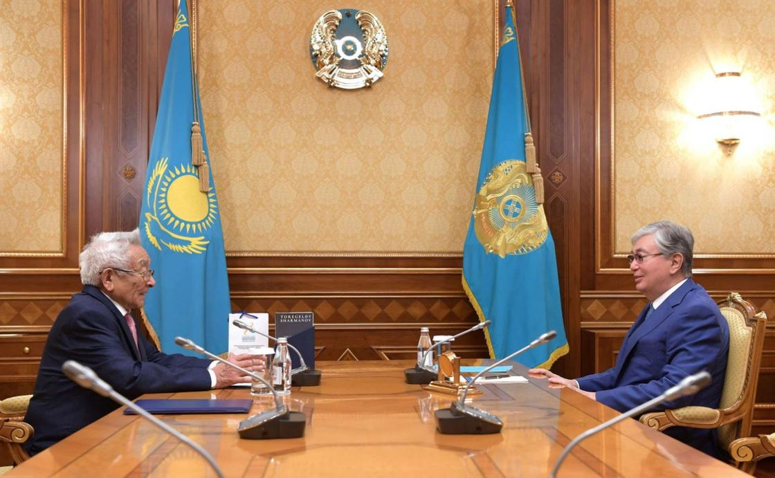 Торгельды Шарманов с президентов РК