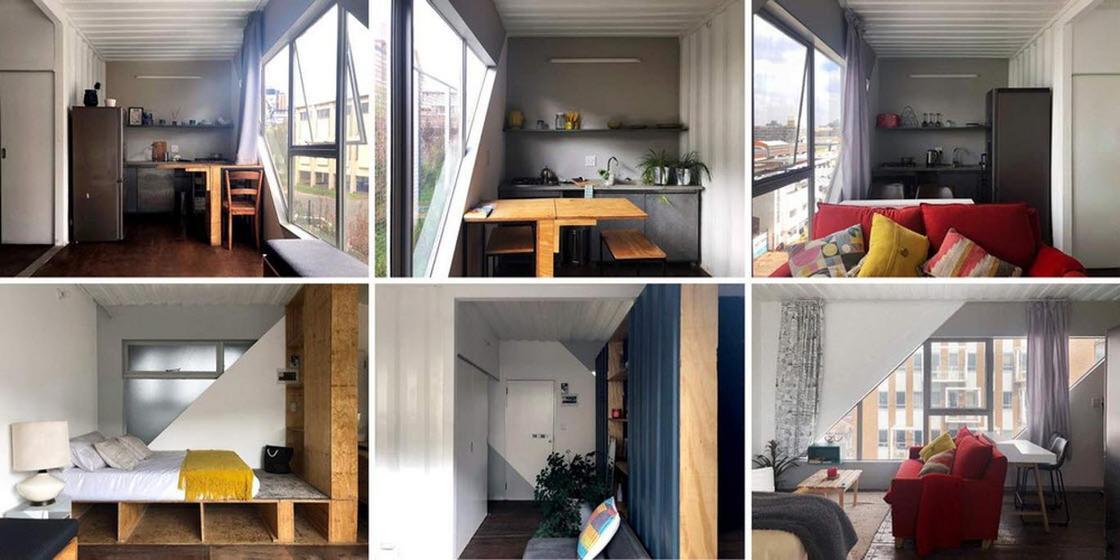 Доступное жилье: семиэтажный дом из контейнеров