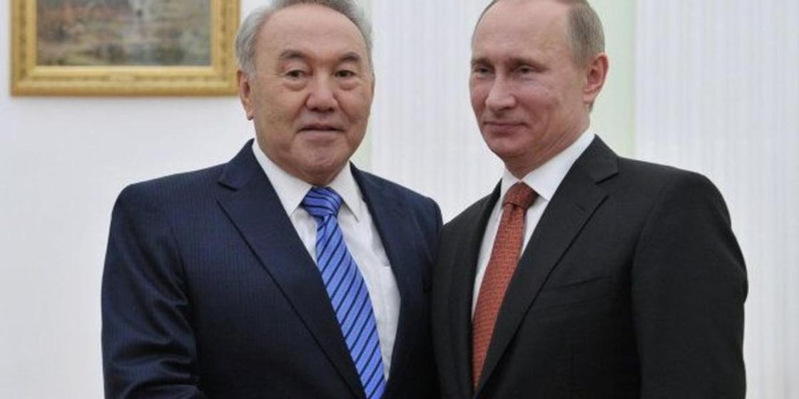 Песков: Назарбаев пен Путин бүгін телефон арқылы сөйлескен