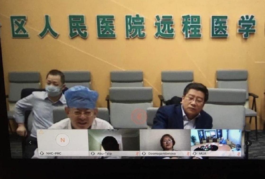 Китай направляет в Казахстан группу медиков для борьбы с COVID-19