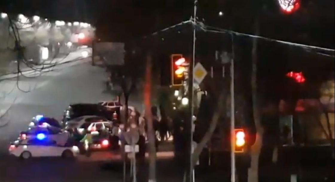 Стали известны подробности «операции» возле ночного клуба в Шымкенте (видео)