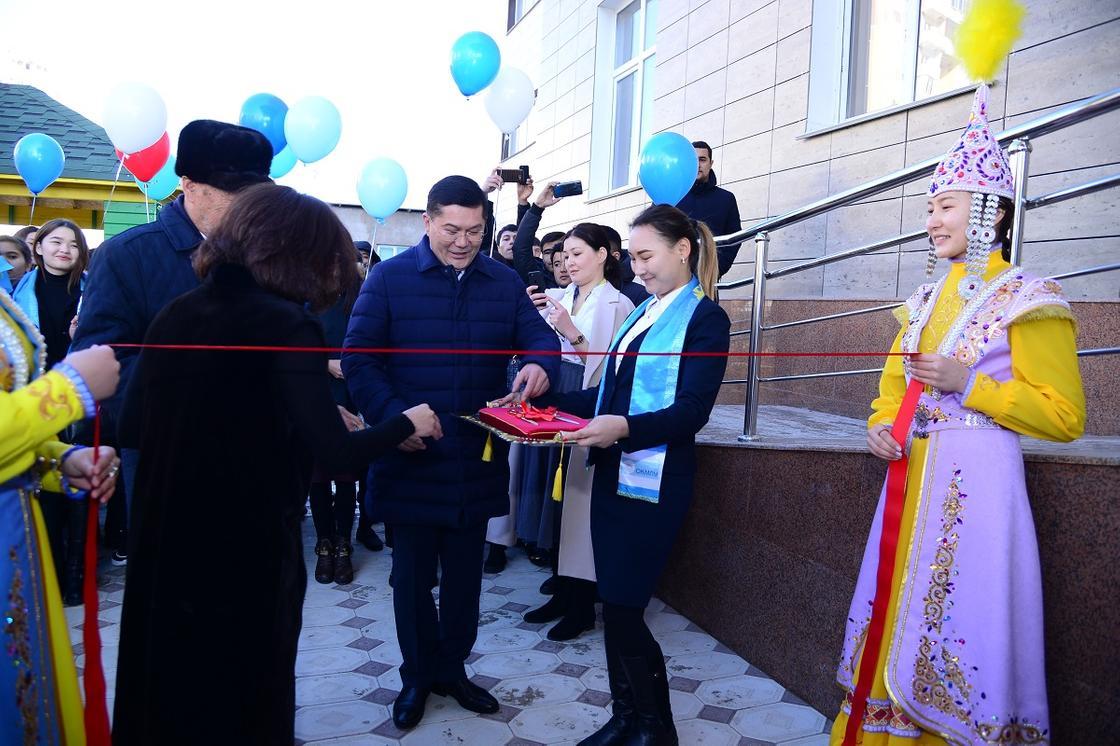 Новое студенческое общежитие открыли в Шымкенте