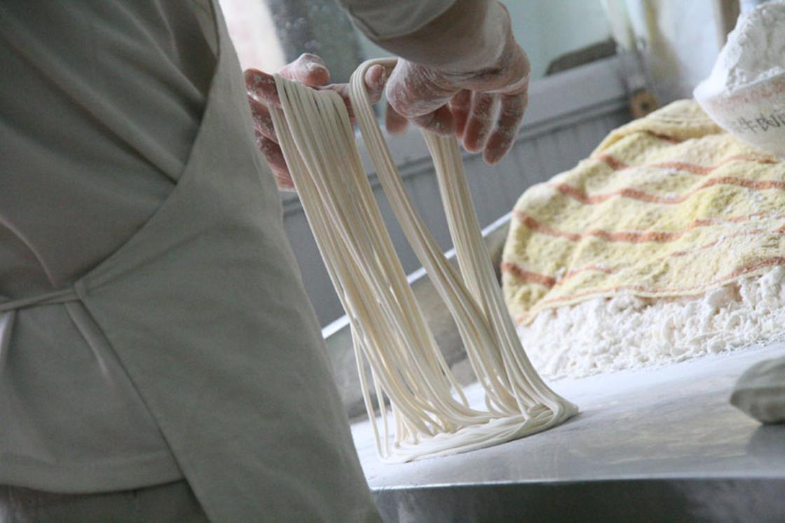 Как приготовить лапшу для лагмана