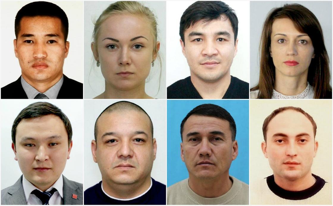 Опубликованы фотографии подозреваемых в организации и участии в ОПГ
