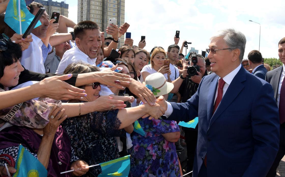 Политолог: Людей, недовольных решениями Токаева, нет