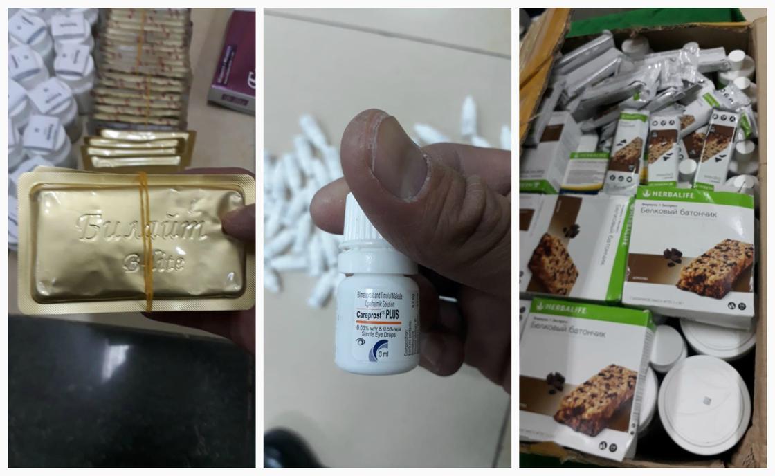 Крупную контрабанду лекарств задержали на границе с Казахстаном (фото)