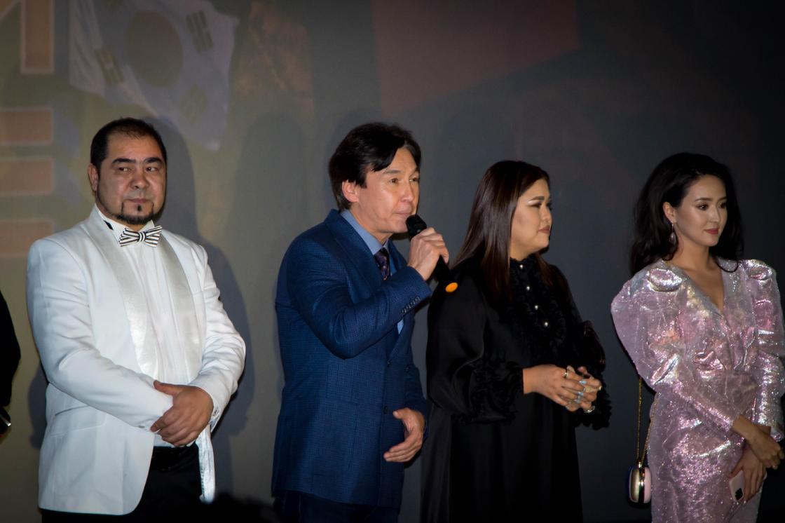 Звезды сошлись в Алматы на премьере фильма «Бизнес по-казахски в Корее»
