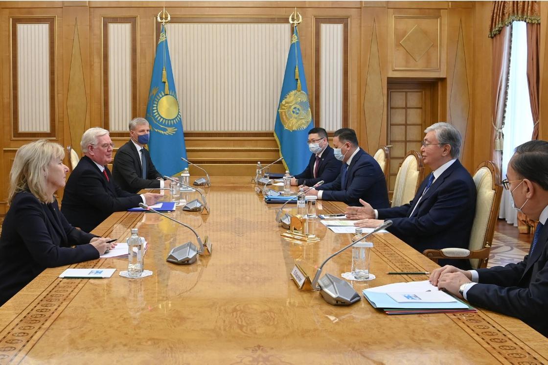 Тоқаев Еуропалық Одақ делегациясын қабылдады