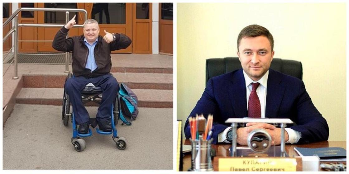 Инвалид-колясочник стал советником акима в Алматы