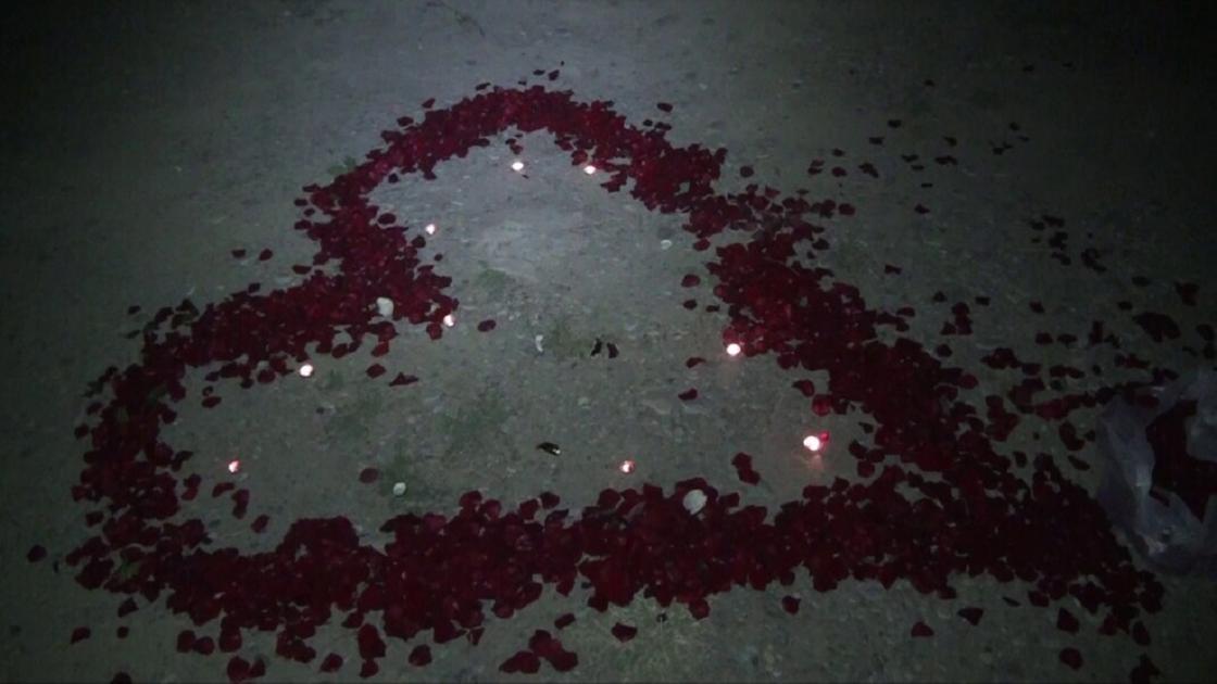 Предложение руки и сердца обернулось пожаром на кладбище в Шымкенте
