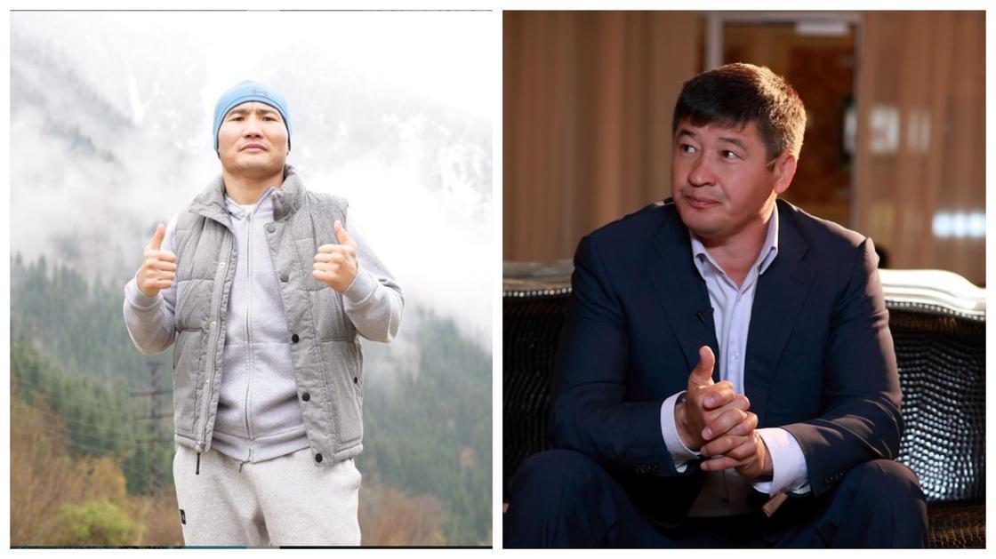 Коллаж: instagram.com/kanat_islam.boxing, /daulet_bolatuly_turlykhanov